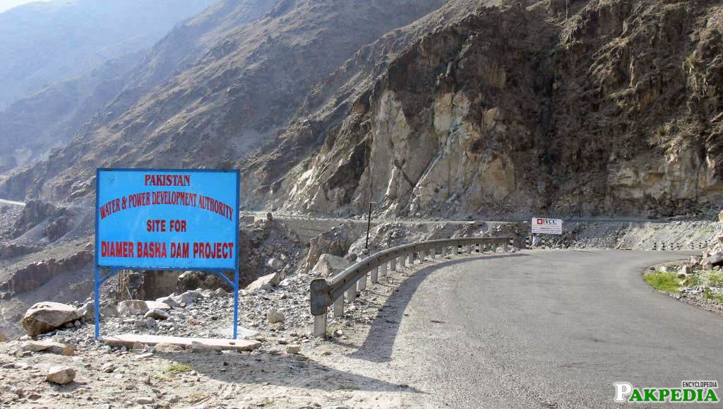 Way to Diamer-Bhasha Dam