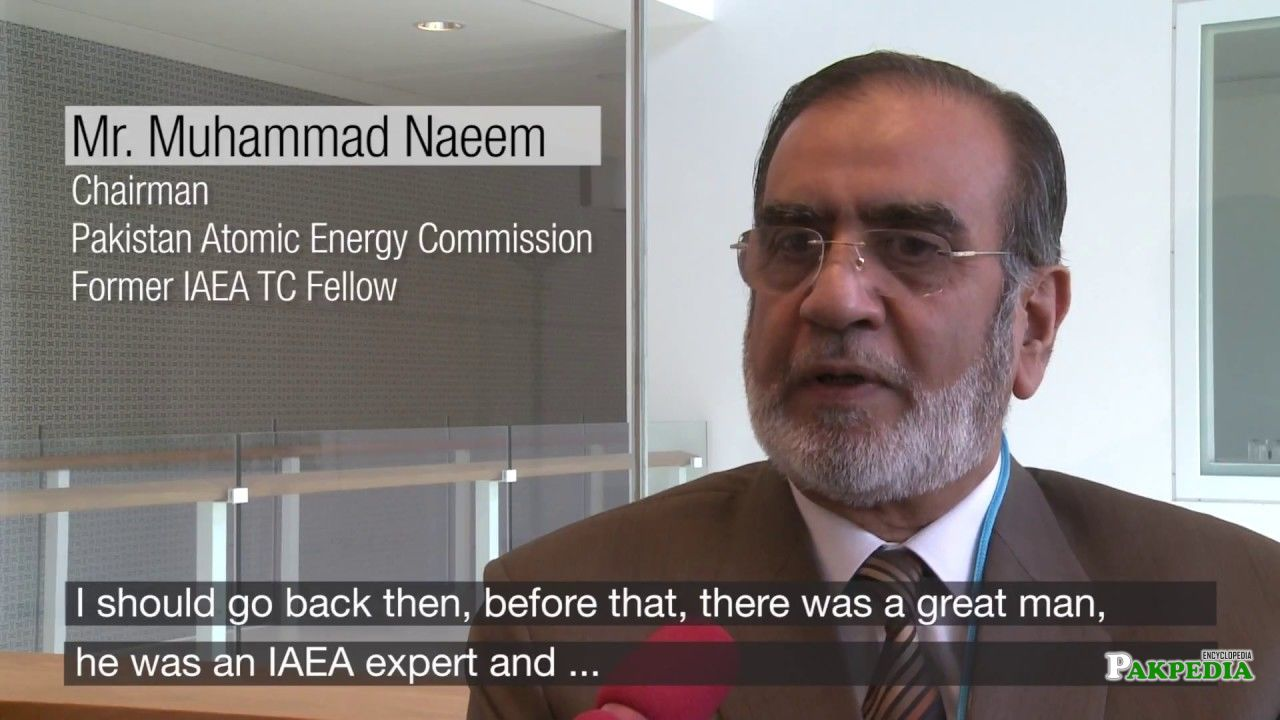 Chairman Mr. Muhammad Naeem