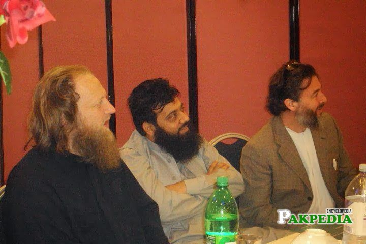 In a conference
