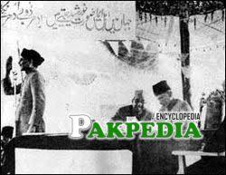 Adressing on Pakistan resolution