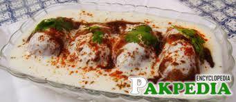 Dhahi Bhalla Pakistani Dish
