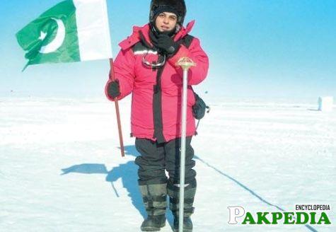 Namira Salim at Mountain