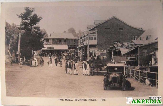 old picture of murree