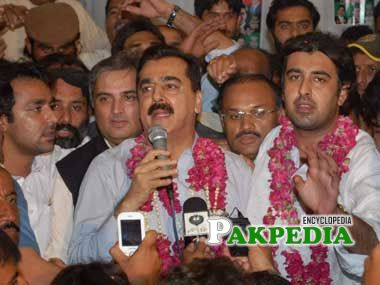 After the victory of Ali Musa Gillani