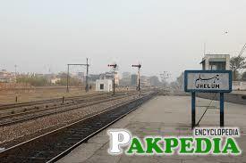 Jhelum Rail Track