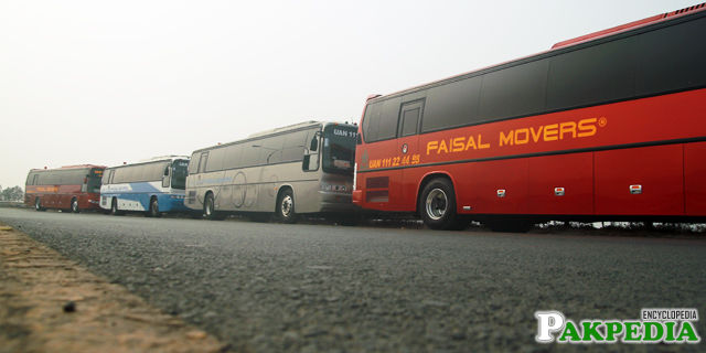 Faisal Movers has so many destinations