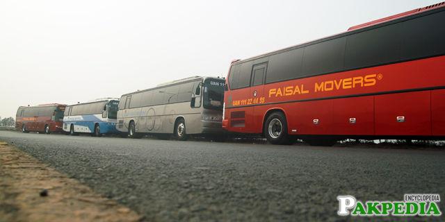 Faisal Movers has so many destinations