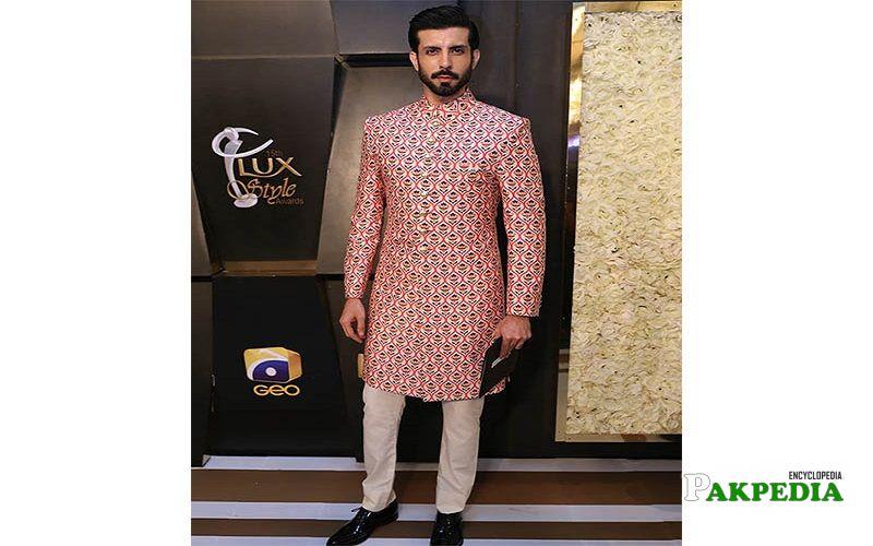 Jahan Khalid at lux style awards