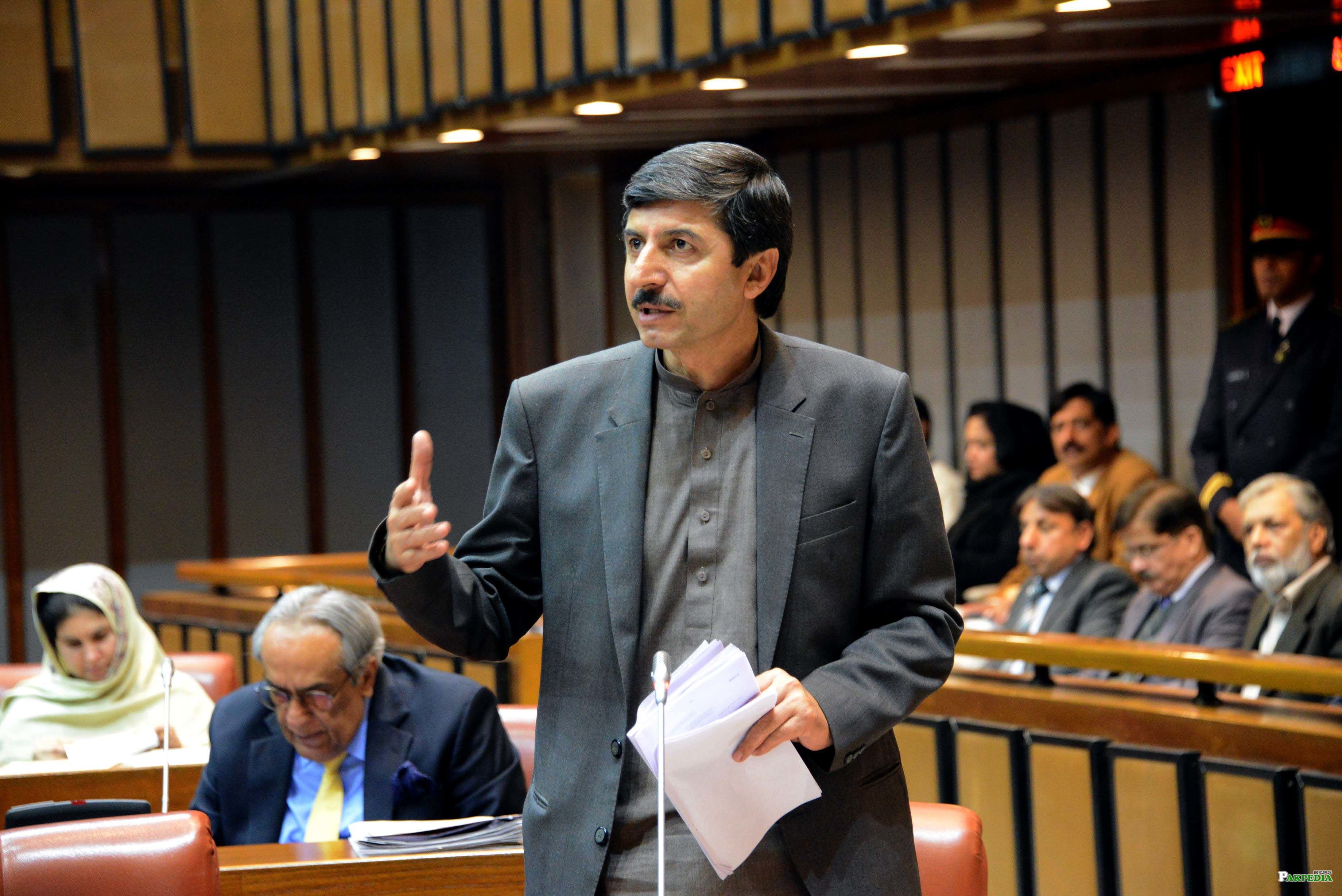 Usman kakar nominated As Deputy chairman