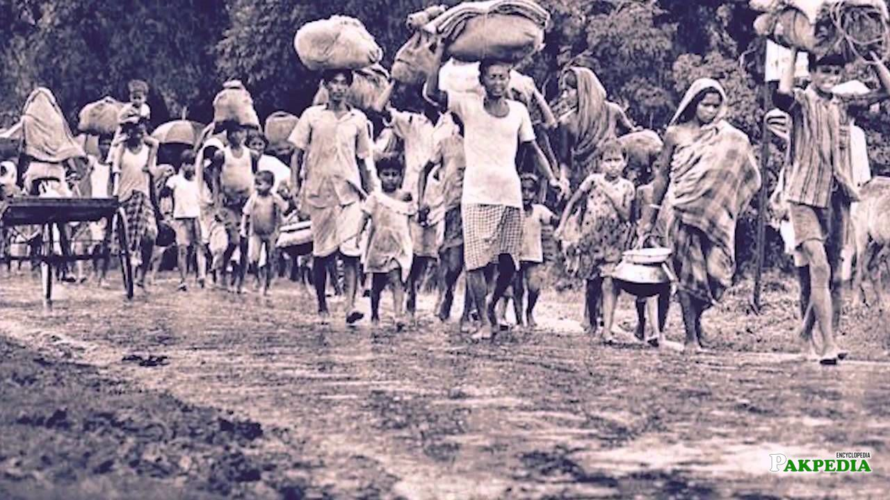 Forced migration after Bengal partition