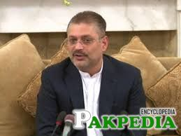 Sharjeel Memon talking about somethink