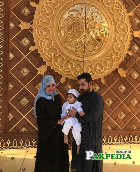 Beenish Chohan performed Umrah with her family