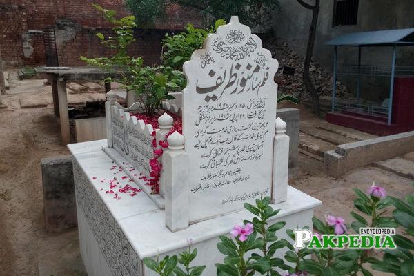 Grave of Munawar zareef