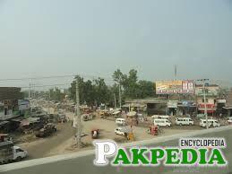 Over view of Sheikhupura