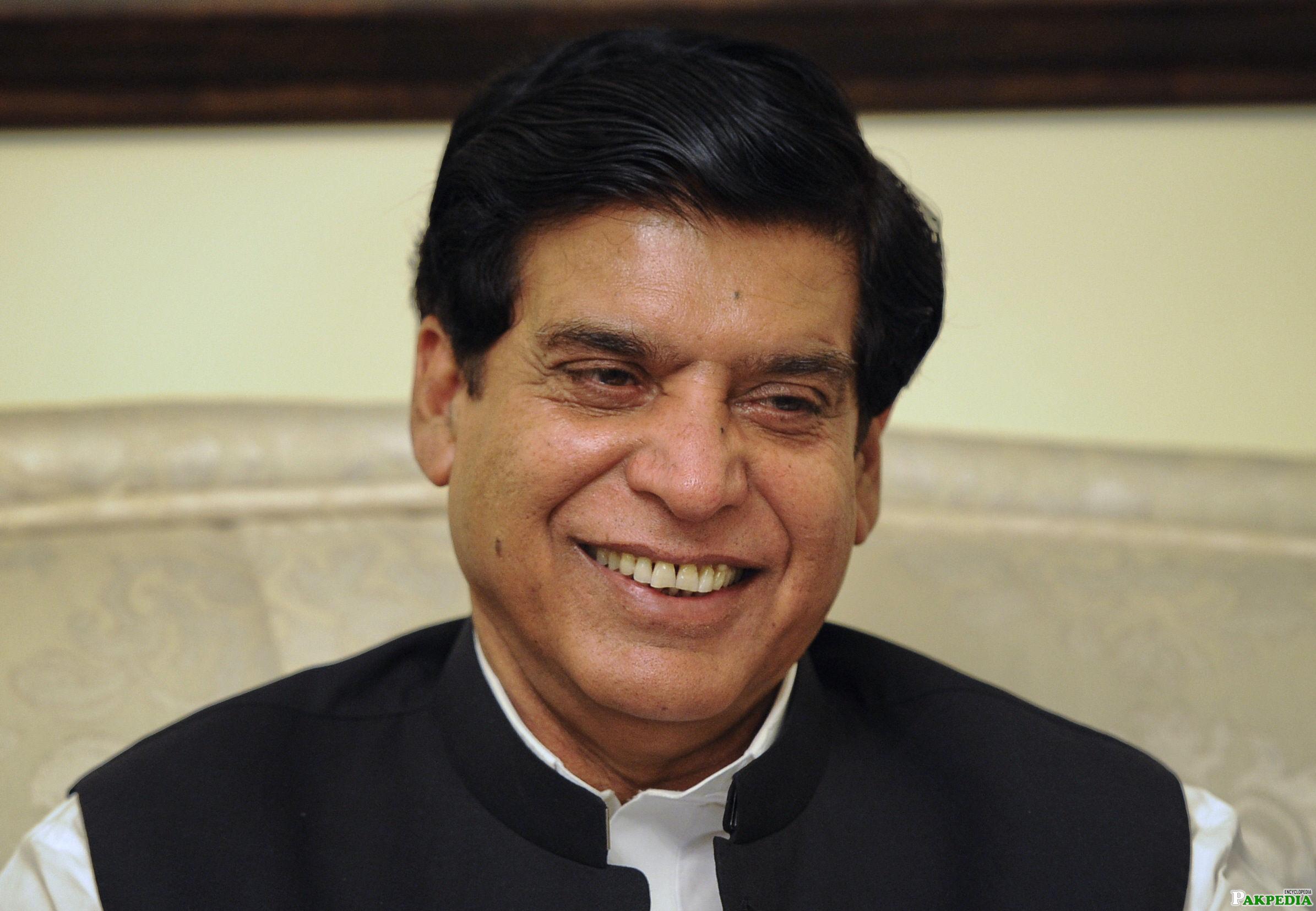 Raja Pervaiz Ashraf Pakistani Leader
