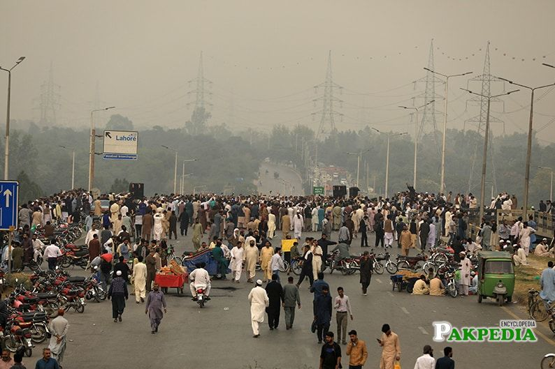 Faizabad Protest