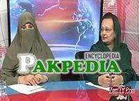 MNA Tahira in a Talkshow