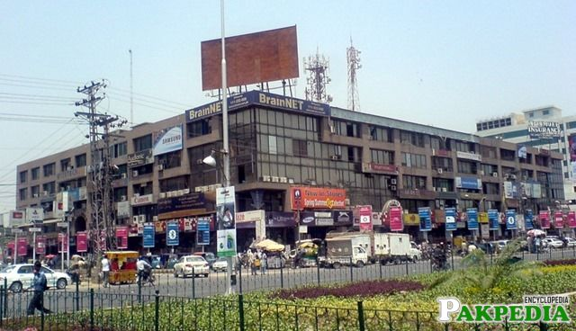 Hafeez Centre the biggest IT Market