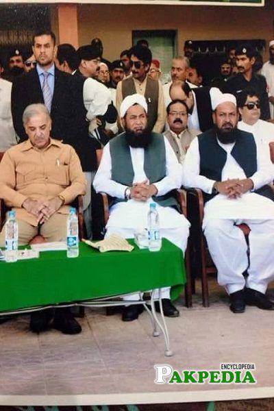 Fida Hussain Wattoo with Shahbaz Sharif