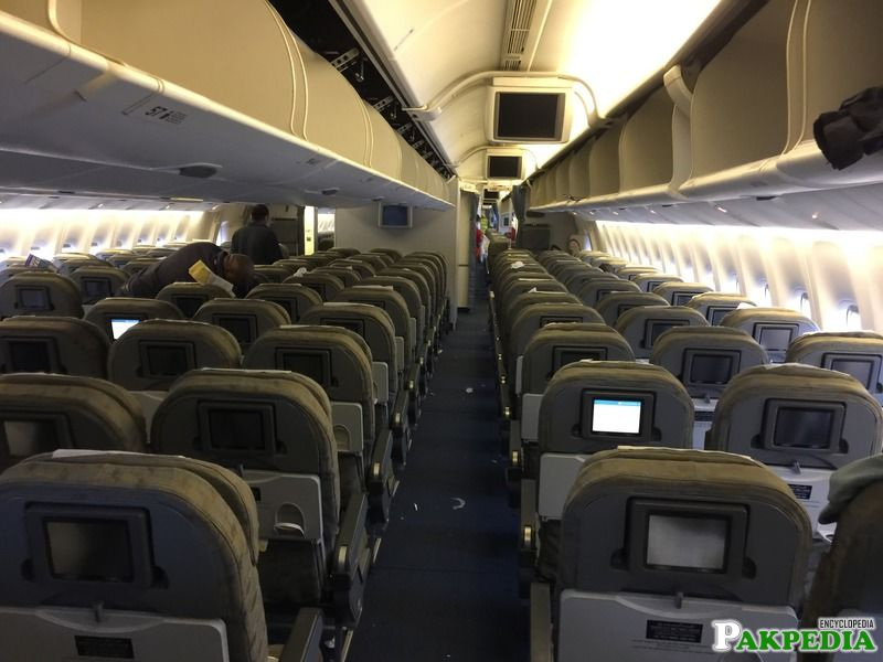 Pakistan International Airlines Interior