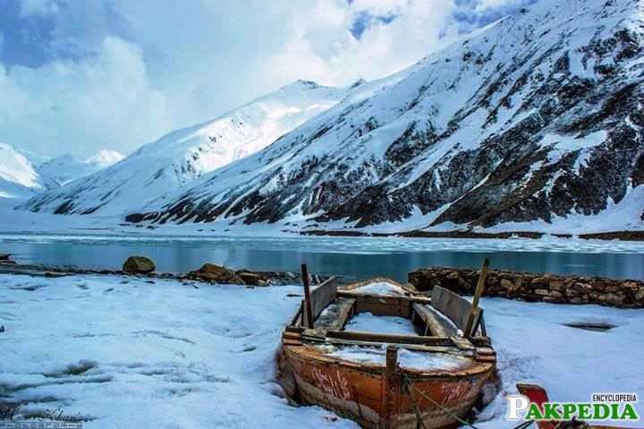 Lake Saiful Malook Heavy Snow Fall