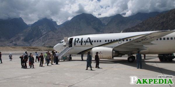 Gilgit Airport Beautiful View
