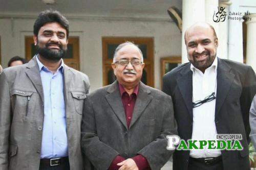 Rizwan razi with Dr sheikh and Sohail raja