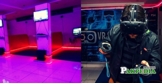 First ever virtual reality gaming zone in Islamabad
