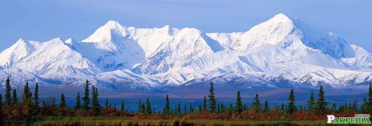 A Beautiful View of Himalayas