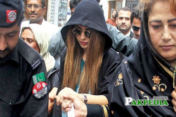 Ayyan Ali accused in a currency smuggling case