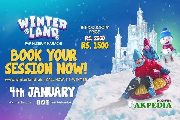 Winter Land Karachi Tickets