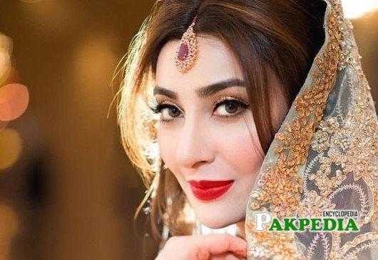 Ayesha Khan on her big day