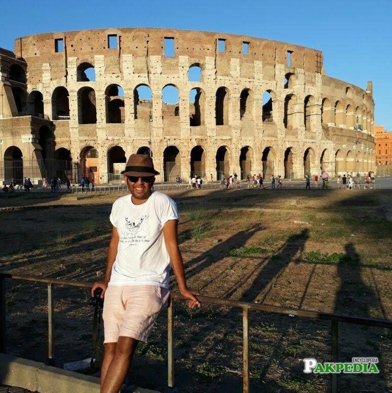 At Colosseo, Roma, Italia