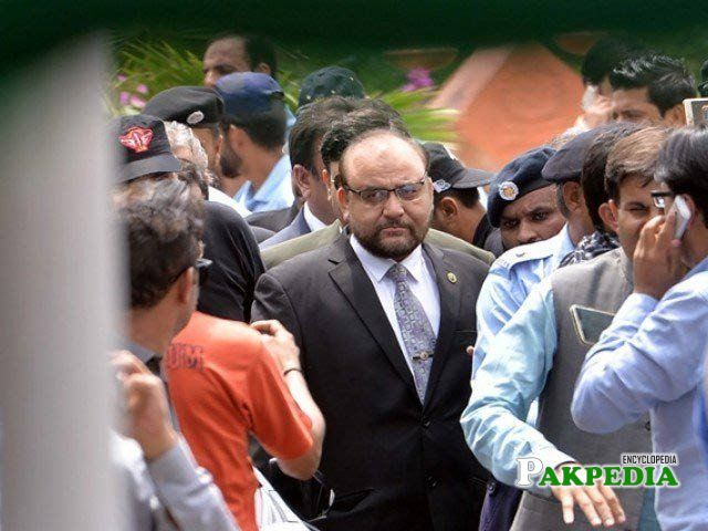 While Coming in Court and Media