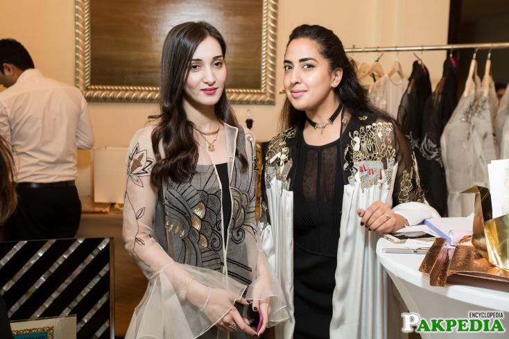 With Aleena Naqvi