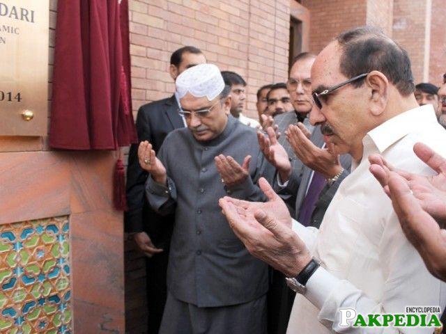 Unparalleled achievement: Zardari inaugurates Pakistan's largest mosque
