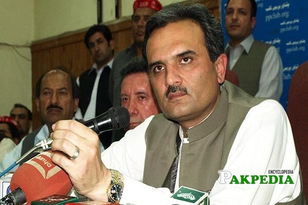 Ameer Haider Khan Hoti Biography