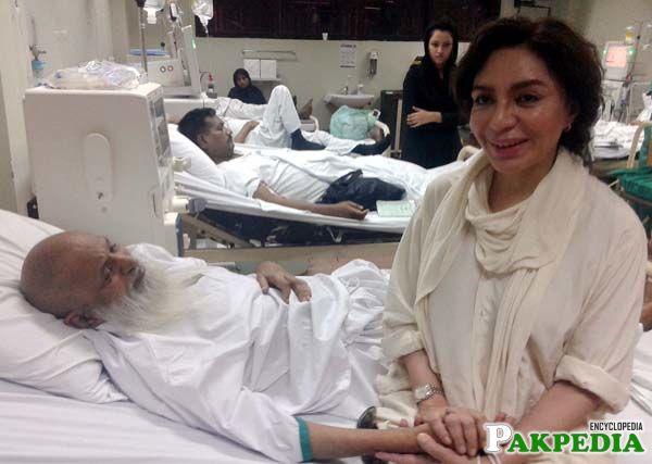 With Abdul Sattar Edhi