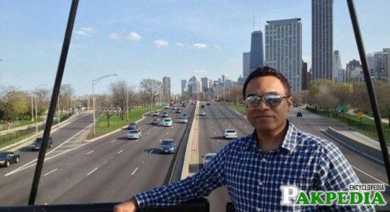Farhan Masood in UAE