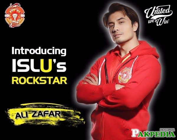 Fan of this Team Ali Zafar