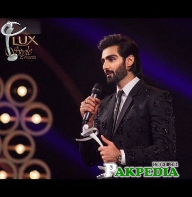 Hasnain Lehri at the Lux style awards
