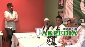Safdar Ali Addressing somethink
