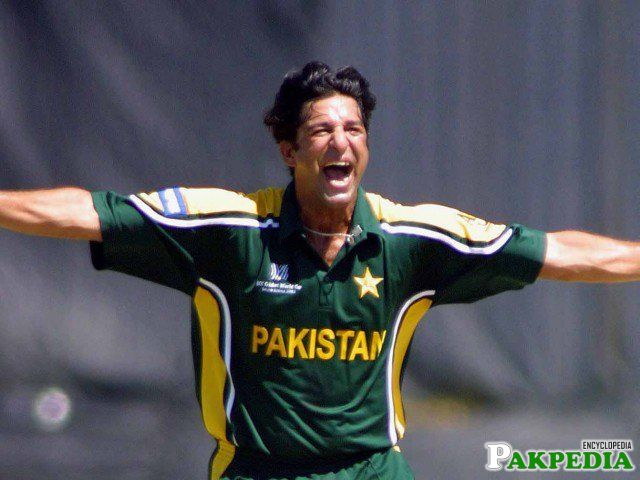 Wasim Akram 1998 to the 2003