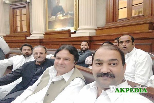 Iftikhar Hussain Chachar in Assembly