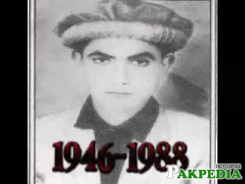 Picture of shaeed allama in his younghood