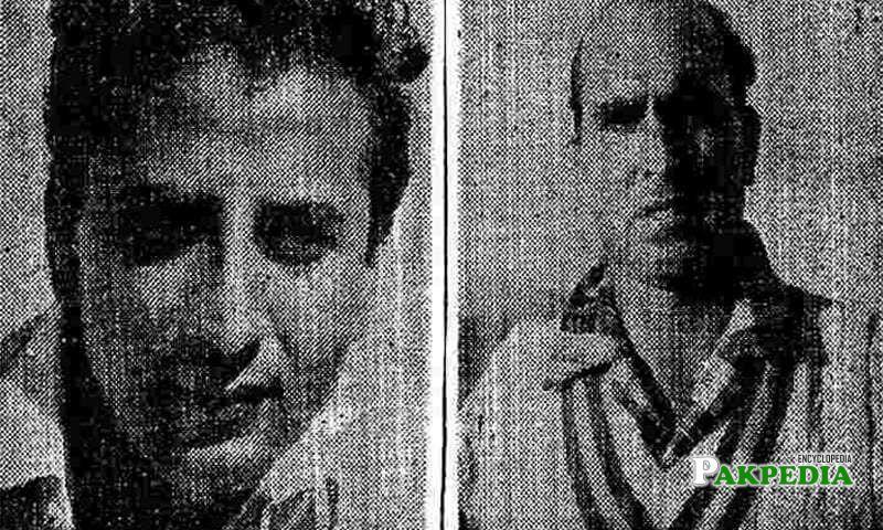 Fazal Mahmood and Mahmood Hussain