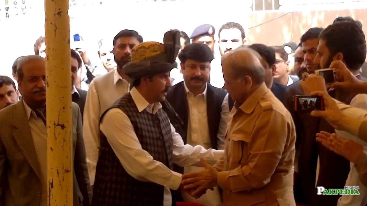 Nasir Kamal PAGRI ceremony by Shahbaz Shareef,left Side Anwar Kamal