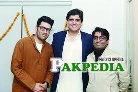 With Ali aftab and jarar shah