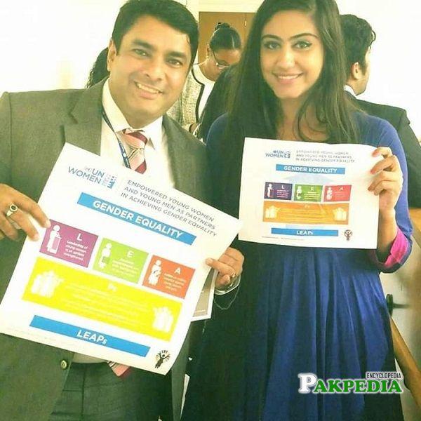 Social Activist, Changemaker and Artist Naeema Butt