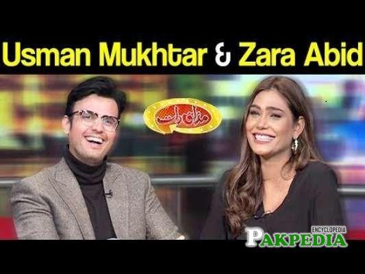 Zara Abid in Mazakraat